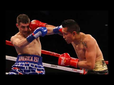 Mexican Boxer Destroys American Fighter Wearing Trump Wall Shorts