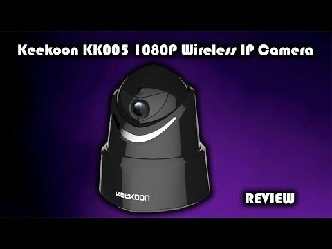 KeeKoon KK005 1080P WiFi IP Camera Review and App Setup