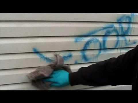 Tagaway® Graffiti Remover - Removes Graffiti from Siding
