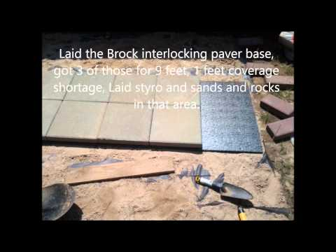 Installing pavers and walkway on budget