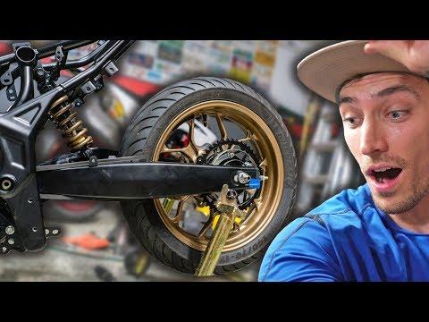 Custom Rear Shock & Wheel Installed! [R3 Build Part 7]