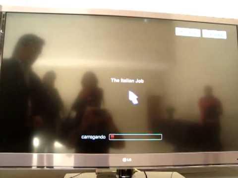 App da Netflix rodando no Smart TV LG