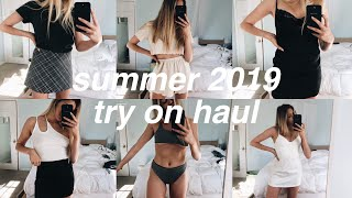 HUGE Try On Summer 2019 Clothing Haul. YIPPEE!