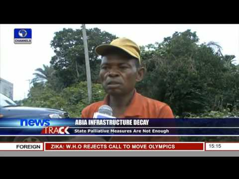 Abia Infrastructure Decay: State Palliative Measures Are Not Enough