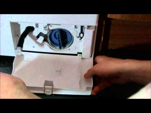 How to clean the pump filter and coin trap on a Bosch washing Machine