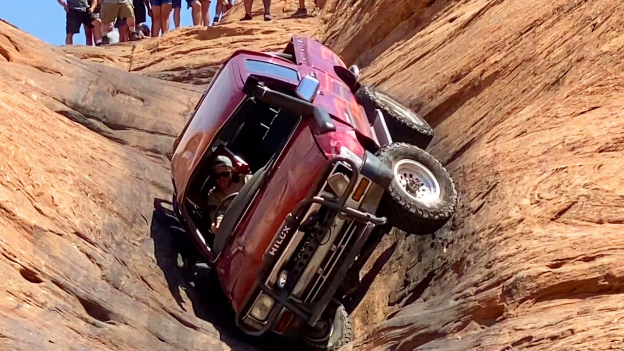 Toyota Hilux Outperforms Everything in Moab