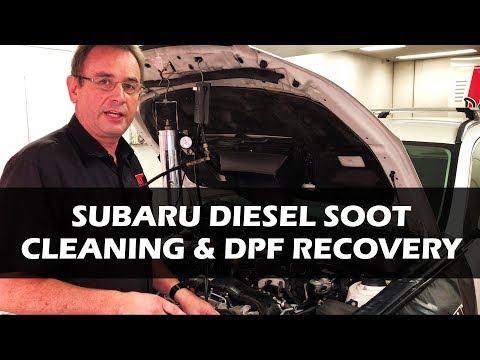 Subaru Turbo Diesel Soot Cleaning and DPF Recovery