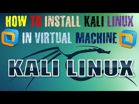 HOW TO ISTALL KALI LINUX IN VIRTUAL MACHINE (BEGINNER) 2015