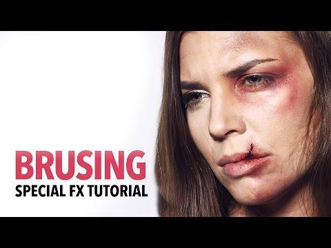 Bruising fx makeup tutorial