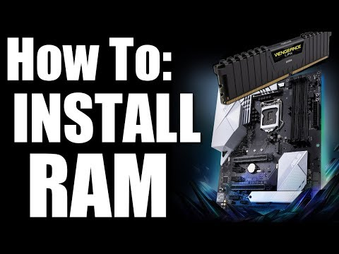 How to install Ram on An Asus Motherboard The Right Way