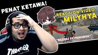 REACTION VIDEO MILYHYA ! PENAT KETAWA! | Bahasa Malaysia
