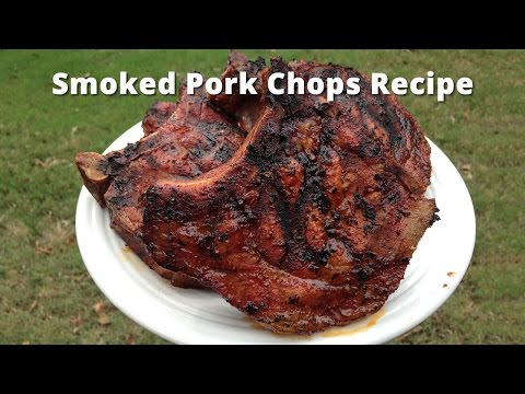 Smoked Pork Chops Recipe | How To Smoke Pork Chops Malcom Reed HowToBBQRight
