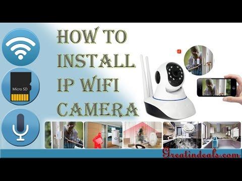 V380  Ip camera Unboxing , Installation & configuration