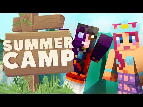 MINECRAFT SUMMER CAMP! Making Camping Gear!