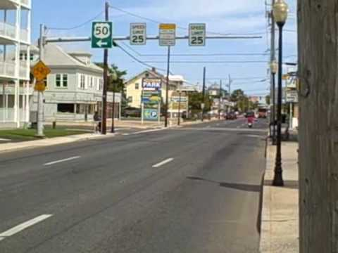 OCEAN CITY, MARYLAND ROUTE 50 SIGN TO SALISBURY,  MARYLAND