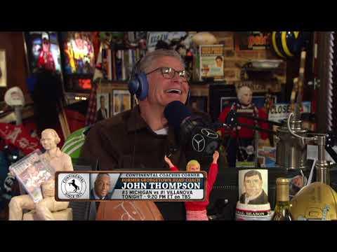 John Thompson on Georgetown Losing to Villanova In 1985 | The Dan Patrick Show | 4/2/18
