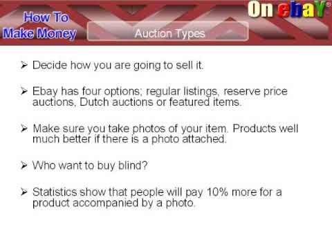(www.ebayauctionprofits.info) *How To Start A Bidding Frenzy On Ebay*
