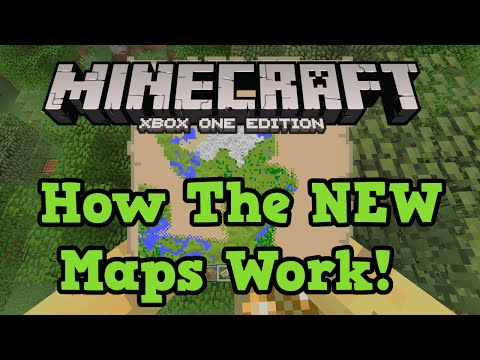 Minecraft Xbox One + PS4: Map Tutorial & Size (Large, Medium Small)