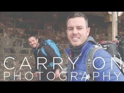 'Carry on Photography' - Landscape photography with a clown! ;-)