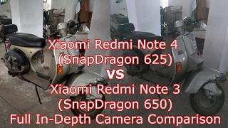 Xiaomi Redmi Note 4 (SD 625) VS Xiaomi Redmi Note 3 (SD 650): Full In-Depth Camera Comparison