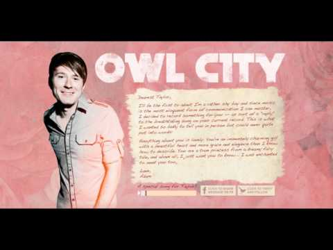 Owl City - Enchanted by Taylor Swift