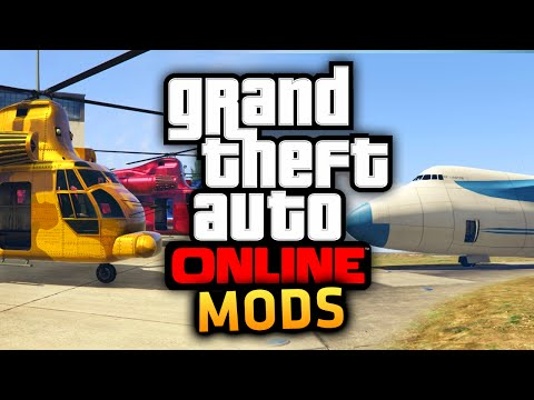 GTA 5 Online: Get RARE Vehicles! Cargo Plane, Space Docker & More! (GTA 5 Mods PS4 Gameplay)