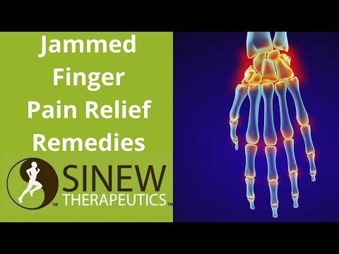 Jammed Finger Pain Relief Remedies