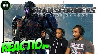 Transformers : The Last Knight Trailer #3 Reaction!! | Glitch React