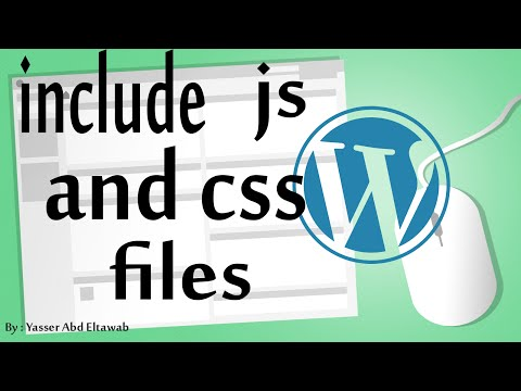 wordpress in arabic (#9) - Include JavaScript and CSS Files