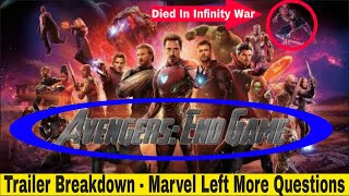 Download Avengers Endgame Trailer Breakdown - Marvel Left Us With More Questions Video