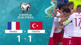 Fransa 1-1 Türkiye | EURO 2020 Elemeleri Maç Özeti - H Grubu