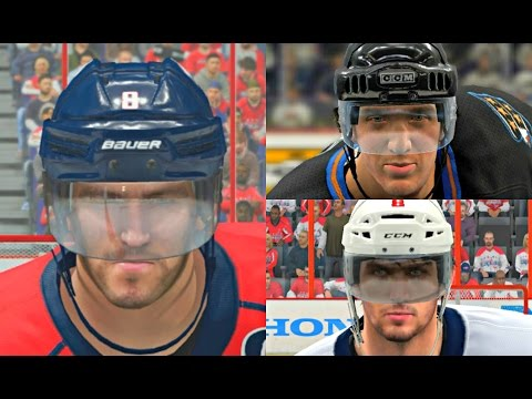 Alexander Ovechkin Player Progression from NHL 07 to NHL 17! #WAS #PS4