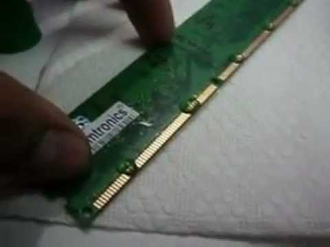 How to Repair a DDR RAM