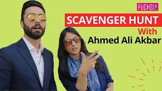 Scavenger Hunt With Ahmed Ali Akbar from Ehd e Wafa  FUCHSIA 