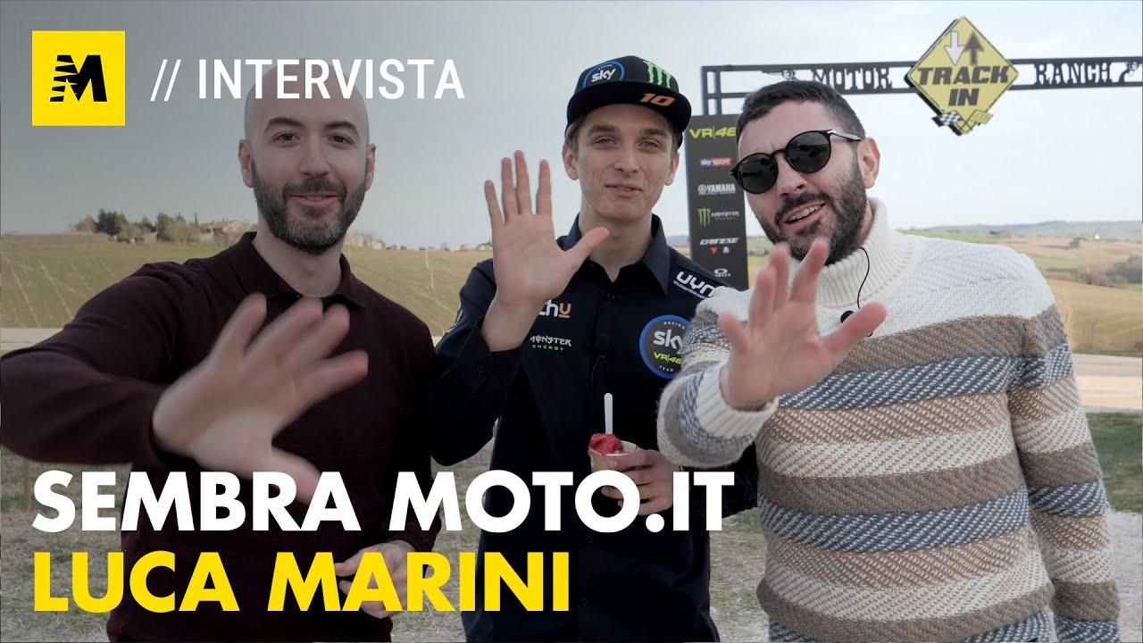 Luca Marini: «Io glaciale? Anche io mi emoziono» || Sembra Moto.it