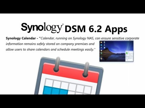 Synology Calendar for DSM 6.2 on your NAS