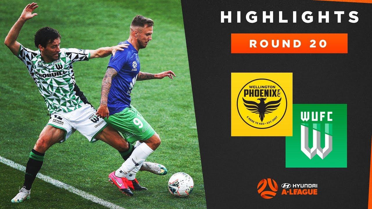 Highlights: Wellington Phoenix v Western United FC – Round 20 Hyundai A-League 2019/20 Season