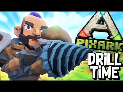 POWER DRILL TIME! - PixARK #21