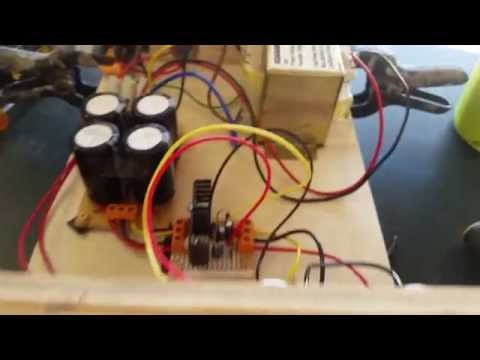 Building a Dual Rail Regulated Power Supply