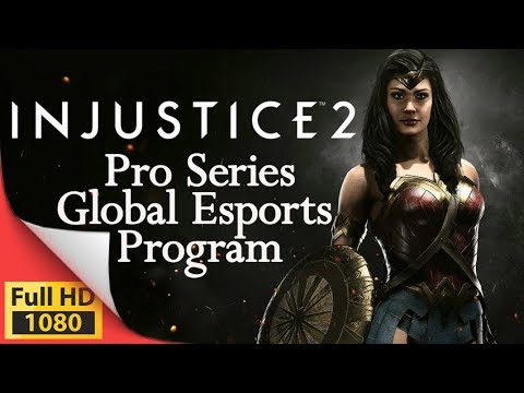 Injustice 2 Pro Series eSports Second Season Compete to be World Champion