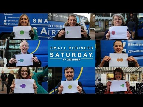 Small Business Saturday UK Tour Bus in Burton