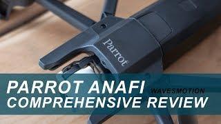 Parrot Anafi - Range Test FCC 3200m under the rain (using