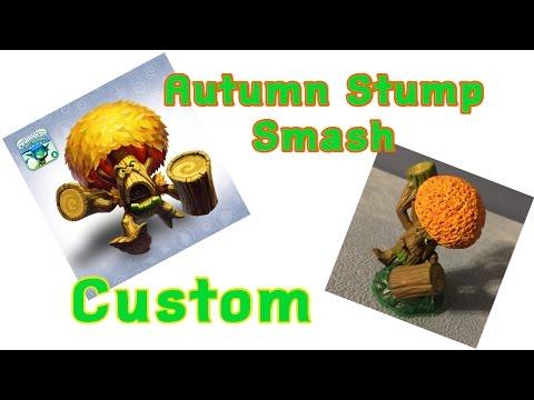 Skylanders Lost Island Autumn Stump Smash Custom