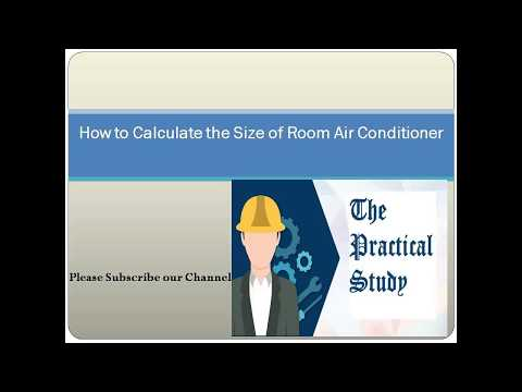 How to calculate room air conditioner size