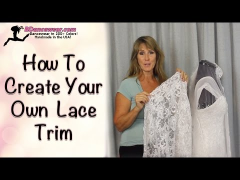 How To Create Your Own  Lace Trim