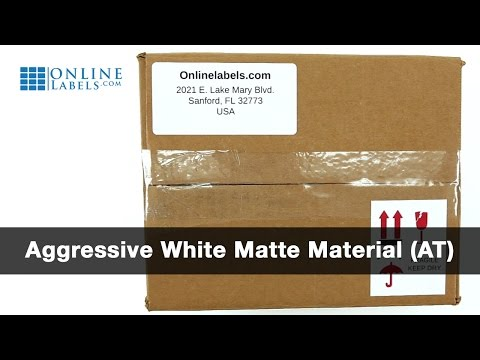 Aggressive White Matte - See Features and Uses