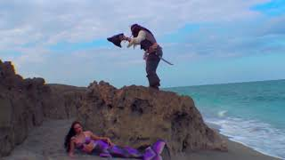 Pirate Jack Meets a Real-Life Mermaid on the Beach
