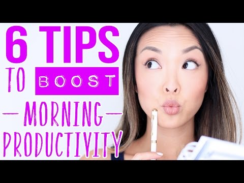 HOW TO: Be Productive In The Morning & Get Things Done!