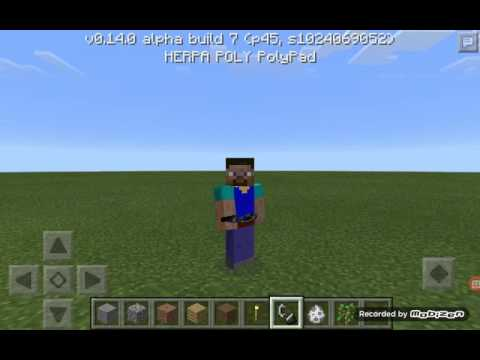Minecraft pe / 14.0 build 7 / nether portal yapımı
