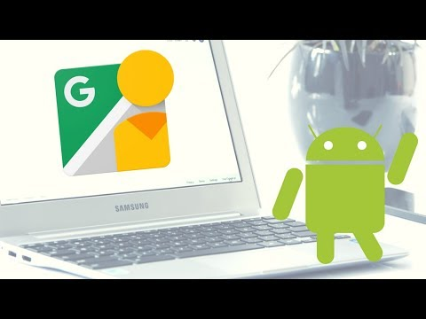 Google Street View Android App on a Chromebook